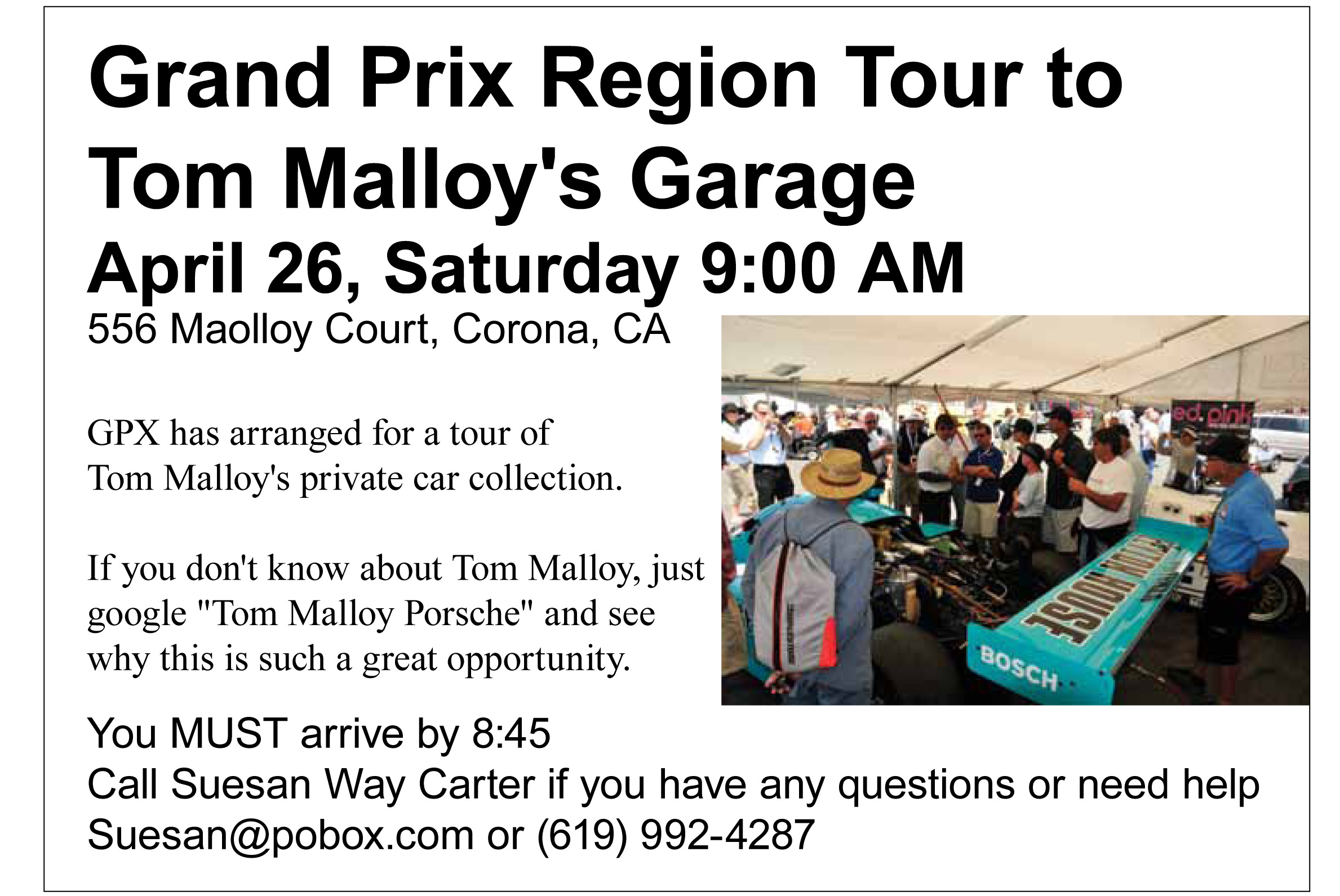 Tom Malloy Garage Tour