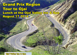 GPX Tour to Ojai-Lunch at Ojai Valley Inn & Spa  Aug 17, 2014