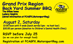 GPX Backyard Summer BBQ Aug 2, 2014
