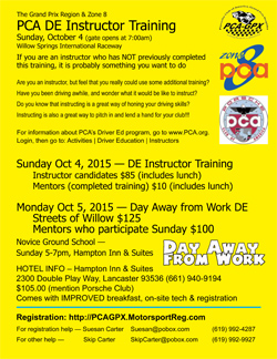 DE Instructor Training and Day Away from Work Oct 4 2015-250pz