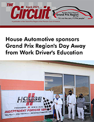 PCA Grand Prix Region newsletter